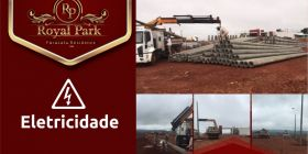 Andamento das Obras ROYAL PARK PARACATU RESIDENCE